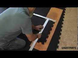 interlocking rubber floor tiles easy installation