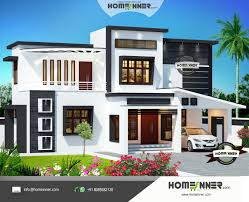 2500 sqft 4 bedroom modern contemporary indian home design by home