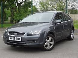 ford focus 1 6 zetec climate 3dr hatchback grey 2005 full service