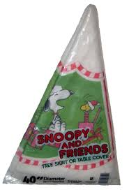 snoopy tree snoopy and friends christmas tree skirt or table cover ultra