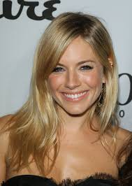 whatbhair texture does sienna miller have sienna miller love this colour blonde it looks very natural