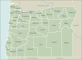 oregon county map county zip code maps of oregon