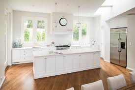 kitchen room flat white kitchen island cabinet granite countertop