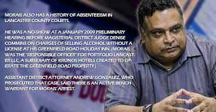 How Does A Bench Warrant Work Active Bench Warrant For Charles Morais Arrest U2013 My Nation News