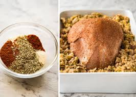 best turkey rubs for thanksgiving cajun baked turkey breast and dressing stuffing recipetin eats
