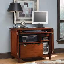 Computer Armoire Desk Cabinet Apartments Comfy Home Office Furniture Set Ideas With Wooden