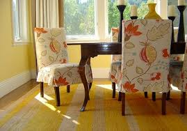 Dining Room Chair Seat Covers Patterns Dining Room Chair Slipcovers Pattern Home Design