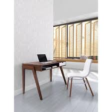 home interiors en linea zuo linea walnut desk 199054 the home depot
