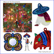 mexican tin ornaments painted http www lafuente