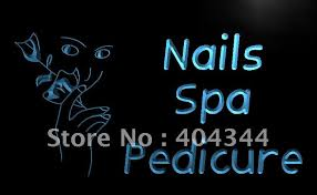 salon sign nail promotion shop for promotional salon sign nail on
