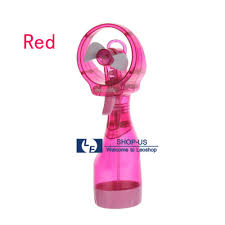 handheld misting fan portable held cooling cool water spray misting fan mist