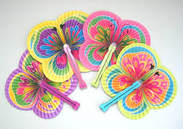 butterfly party favors butterfly party fan supplies 4 paper fan favors fan decor
