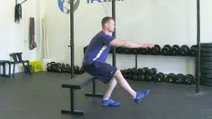 Leg Lift Bench Exercises Using A Bench