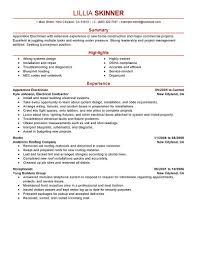 Construction Superintendent Resume Sample Marvelous Idea Electrician Resume Sample 9 Cv Resume Ideas