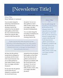 templates for word newsletters templates for newsletters free for microsoft word daway dabrowa co