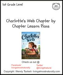 charlottes web chapter by chapter lesson plans language arts