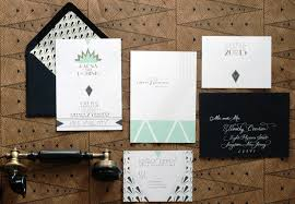 deco wedding invitations raena dominic s deco wedding invitations