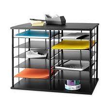 Desk Cubby Organizer Desktop Shelving Organizer Rubbermaid 12 Slot Storage Home Office