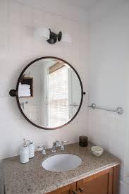Update Bathroom Mirror by Easy Bathroom Updates