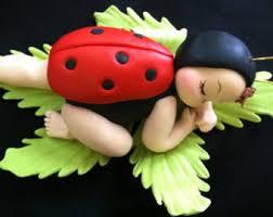 Ladybug Themed Baby Shower Cakes - lady bug cake toppers lady bug baby shower lady bug