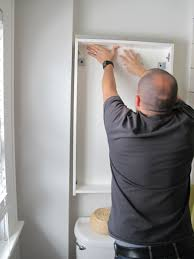 Installing Bathroom Mirror by Godmorgon Ikea Bathroom Cabinet Merrypad