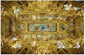 church ceilings 3d stereoscopic wallpaper european church ceiling frescoes