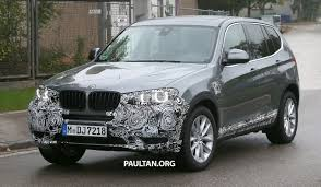kereta bmw x5 spyshots bmw x3 lci gets subtle nip and tuck