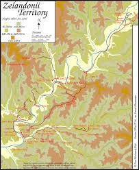 Why Do Western Maps Shrink by Map Of The Zelandonii Territory Local Area For Ec Fans Books 5 And 6