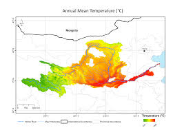 North China Plain Map by Mean Precipitation And Temperature Delight Project Website