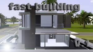 sims 3 speed building small modern house v 1 ihdi youtube