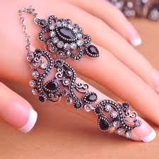 pretty rings images Carved flowers vintage pretty exquisite mid rings fashion turkish jpg