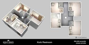 Bathrooms In Kent Renovated Bathrooms Kent State University