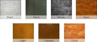 three step countertop metallic epoxy kit direct colors inc