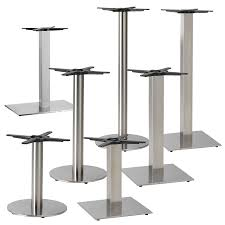 stainless steel table base stainless steel table base contract furniture north east