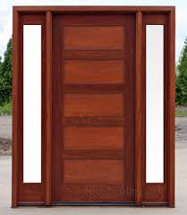Frosted Glass Exterior Doors Craftsman Style Doors And Sidelights