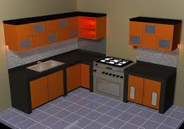 Kitchen Set Design by Kitchen Set 3d Model