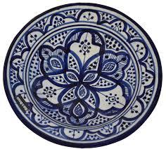amazon com ceramic plates moroccan handmade serving wall