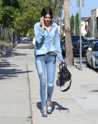 her canadian tuxedo is a step above the rest kendall jenner