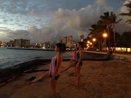 Hawaii travel yoga mat images Best 25 yoga hawaii ideas paddle board yoga most jpg