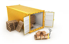 calculation of container or truck loading effective cargo loading