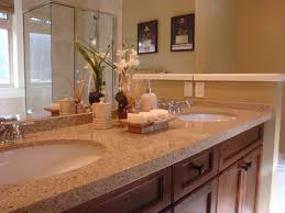 ideas for bathroom countertops bathroom countertop decorating ideas cheap tile for bathroom
