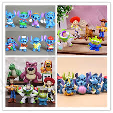 lilo stitch stitch story buzz lightyear pvc figure ornaments