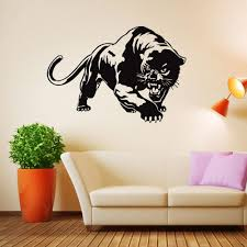 Animal Home Decor by New Creative Leopard Vinyl Wall Stickers Animal Home Decor Living