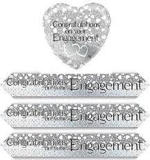 congratulations engagement banner congratulations engagement banner 2 7m splits into 3x 90cm or