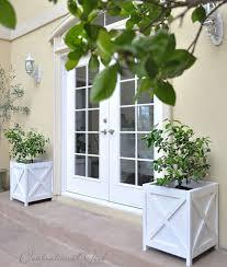 Diy Patio Planter Box Best 25 Diy Wooden Planters Ideas On Pinterest Diy Exterior