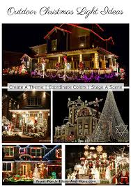 lighted outdoor christmas decorations and ideas