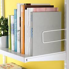 Container Store Shelves by White Elfa Décor Shelves The Container Store