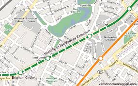 Back Bay Boston Map by Thoughts On The Blue Line Back Bay Bypass U2013 Vanshnookenraggen
