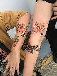 best friend tattoos 110 super cute designs for bffs