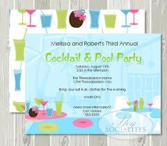pool party invitations cimvitation